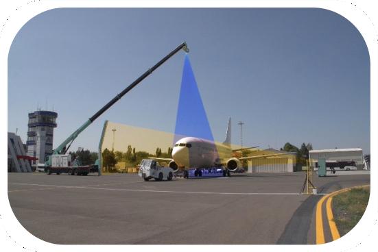 Tudor Tech AERIA DV Innovative solution for security and MRO screening of aircraft.