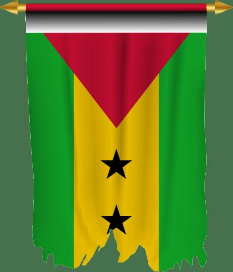 drapeau de Sao Tome et Principe